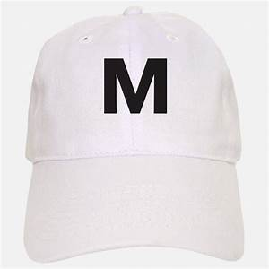 letter m hats trucker baseball caps snapbacks With letter a baseball cap