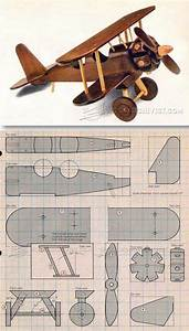 Wooden Airplane Plans - Children's Wooden Toy Plans and