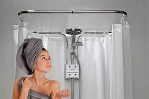 Duschvorhang Halterung Ohne Bohren : clevershower duschvorhangstange ohne bohren ebay ~ Michelbontemps.com Haus und Dekorationen