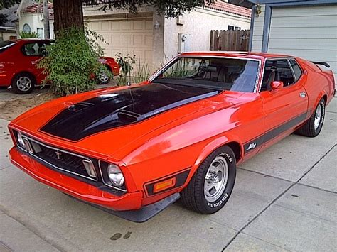 1973 Ford Mustang Mach 1 For Sale