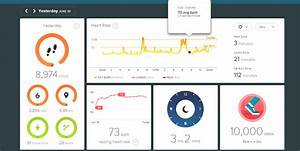 Financial Dashboard Examples Fitbit Highcharts