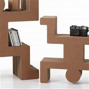 Meuble En Carton Design : 17 best images about cardboard furniture on pinterest furniture storage design and armchairs ~ Melissatoandfro.com Idées de Décoration