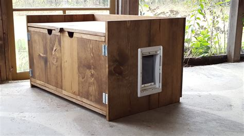custom litter box cabinets wood litter box cat litter box decorative cat by