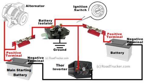 automatic smart battery isolator thor 85 12 volt