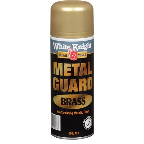 white knight 300g metal guard spray paint brass