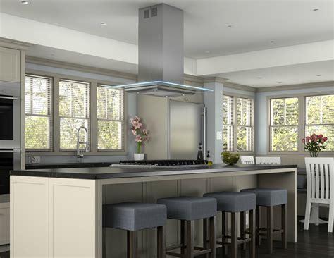 zephyr ventilation launches verona island kitchen range hood