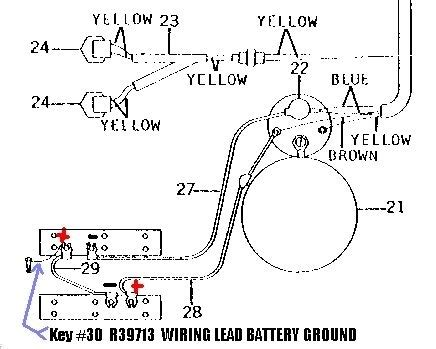 deere battery wiring diagram wiring diagram and fuse box diagram