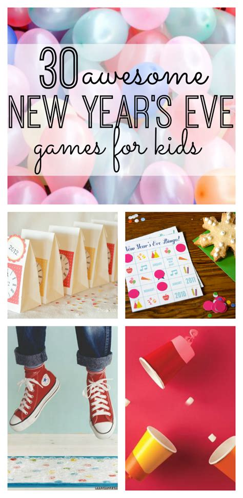 30 Awesome New Year's Eve Games For Kids  My Life And