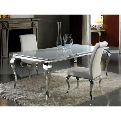 chaise salle a manger baroque table salle à manger baroque tendance s deco
