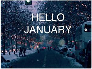 Hello January Pictures, Photos, and Images for Facebook ...