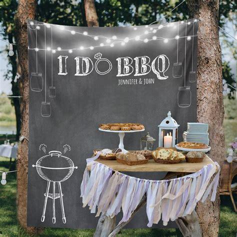 Bbq Backyard Wedding by Custom Wedding Tapestries For Dessert Backdrops And Photo