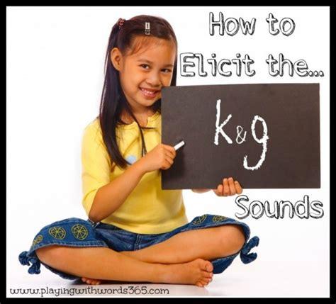elicit teach    sounds part