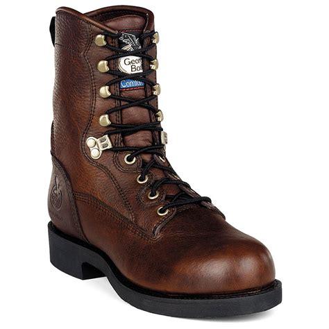 mens comfortable work boots s 174 comfort work boots roan 186331