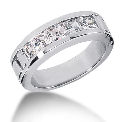 platinum s wedding band 2ct mens wedding rings wedding rings bridal
