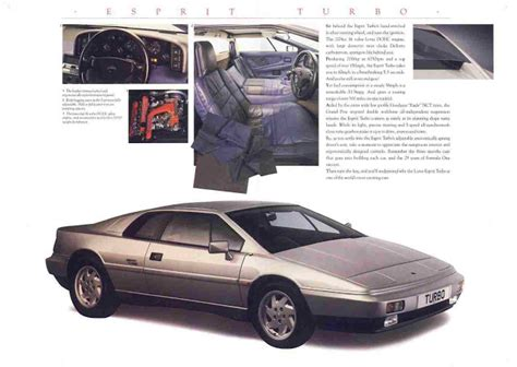 free service manuals online 1988 lotus esprit free book repair manuals lotus esprit s4 workshop turbo parts manuals 1915pg for sale