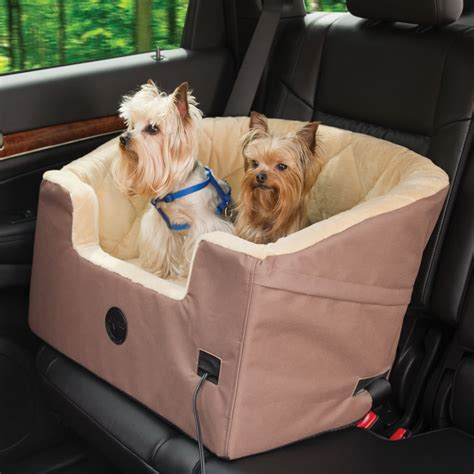 the heated pet car seat hammacher schlemmer