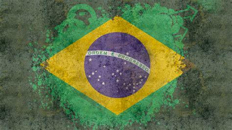flagge von brasilien  hintergrundbild