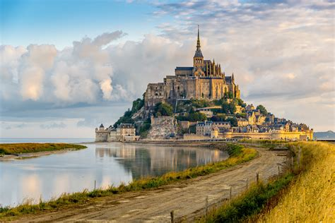 wallpaper mont michel town castle tourism travel architecture 4632