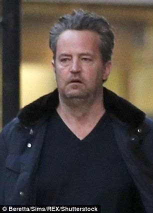 Matthew Perry appears the picture of health while filming ...