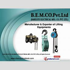 Lifting Accessories By Bemcopvtltd (bakelite