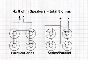 Wiring Diagram For Mono 4ohm  16ohm 4x12