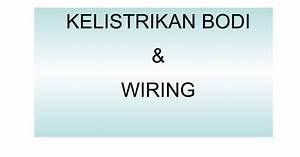 12 B  Kelistrikan Bodi  U0026 Wiring
