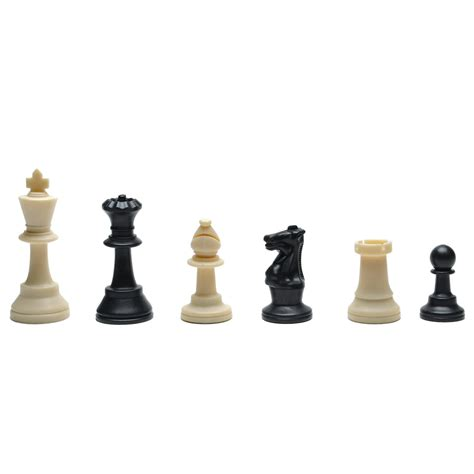 Deluxe Tournament Chess Set With Black Canvas Bag With