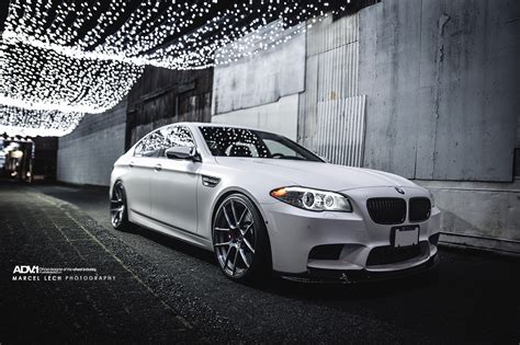 Frozen White Bmw M5 By Marcel Lech Photography