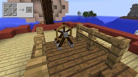 Minecraft Boat Houses Mod by Ships Minecraft Mods