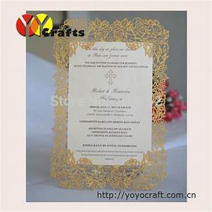 Aliexpresscom buy inc34 rose laser cut wedding for Wedding invitation cards blank inside