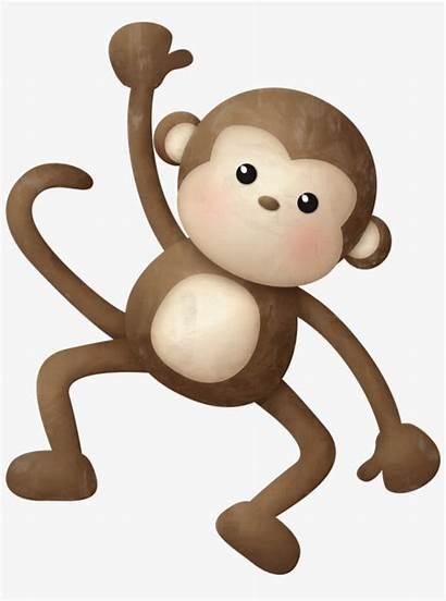 Monkey Jungle Safari Clipart Animal Zoo Theme