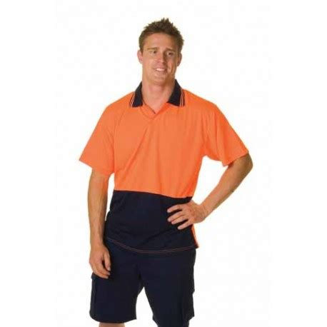 175gsm Polyester HiVis Food Industry Polo, S/S - 3903 | Workwear Clothing Online (The #1 Wholesaler)