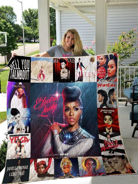 janelle monae albums quilt blanket  fans ver
