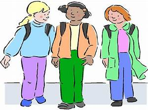 Walking Home From School Clipart - Clipart Suggest