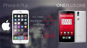 IPhone 6 Plus Vs OnePlus One Phablet Madness Load The Game