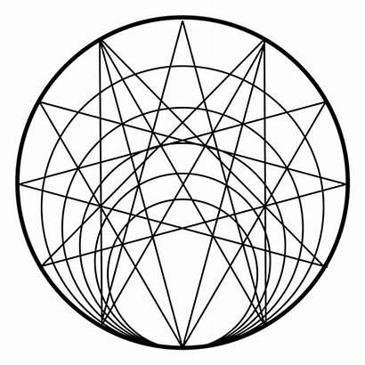 Geometry Sacred Circle Transparent Svg Vector Flower