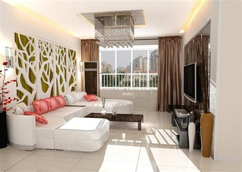 coole wandgestaltung fuers wohnzimmer