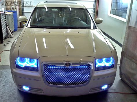 Halo Lights For Chrysler 300 by Chrysler 300 With Oracle Halo Eye Headlights And Oracle