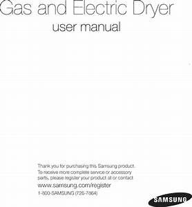 Samsung Dv56h9000ep  A2 0000 User Manual Dryer Manuals And