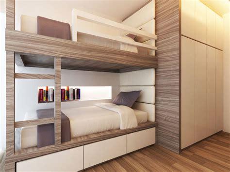 Children Room Bunk Bed Double Deck 3d Model