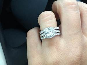 gorgeous neil lane bridal 1 1 2 ct tw 14k white gold With 2 1 4 ct tw diamond wedding ring