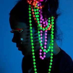 UV Neon Pearls Glow in the Dark Jewellery