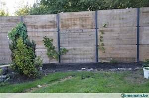 Panneau pvc jardin separation de jardin panneaux de for Beautiful modele de terrasse exterieur 5 brise vue aluminium au prix dune cloture pvc ou cloture