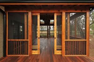 Craftsman Screen Porch - Craftsman - atlanta - by