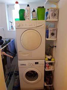 Waschmaschine Und Wäschetrockner übereinander Stellen. miele ...