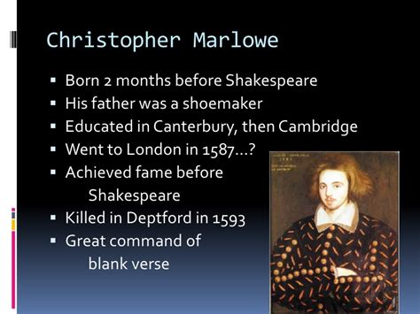 christopher marlowe quotes image quotes  hippoquotescom