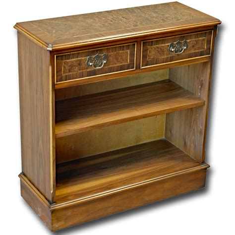 Reproduction Bookcase by Reproduction 30x30 Open Bookcase In Yew Mahogany Oak And