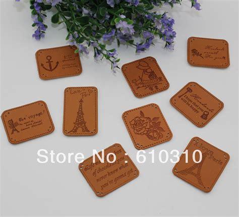 livraison gratuite gros 9 styles 233 tiquette en cuir patchwork bricolage 224 coudre 233 tiquette