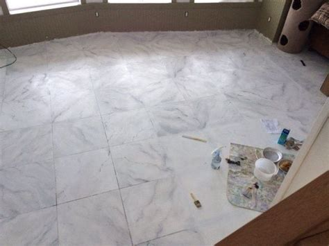 Floor Paint Marble by Faux Marble Flooring Hometalk