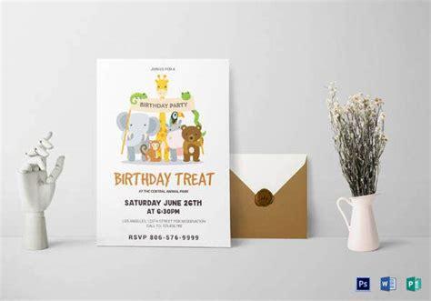 29+ Dinosaur Birthday Invitation Designs & Templates PSD